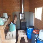 Kuusisuvannon mökin sauna