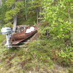 Kuusisuvannon mökin vene