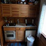 Penäjän mökin keittiö