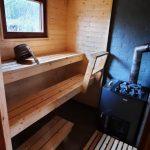Penäjän mökin sauna